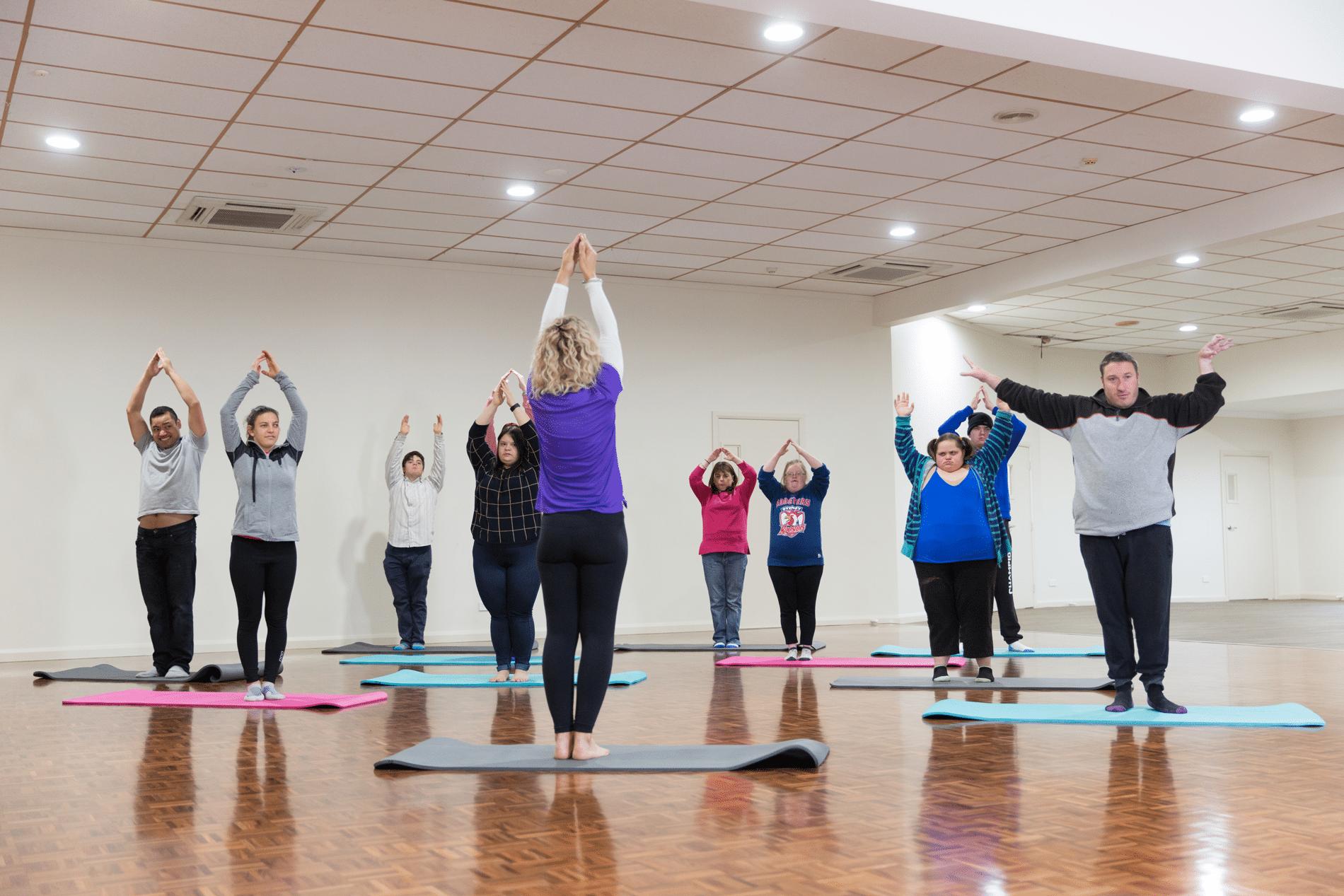 GPSO Programs - Yoga Class