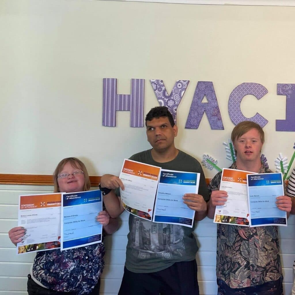 Go Team Hyacinth! -