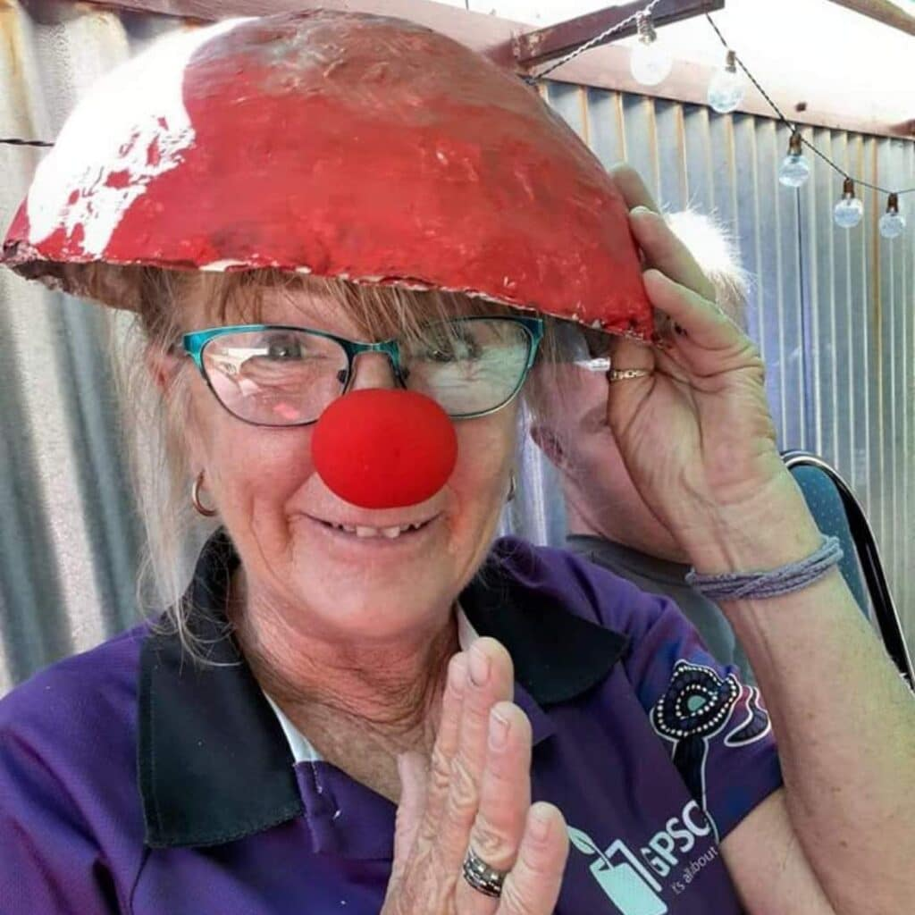 Team Hyacinth goes silly for a serious cause -
