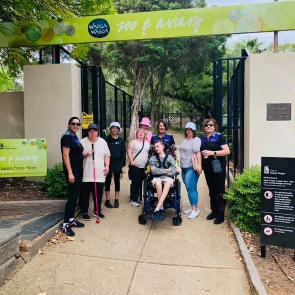 GPSO Respite enjoys the Wagga Botanic Gardens -