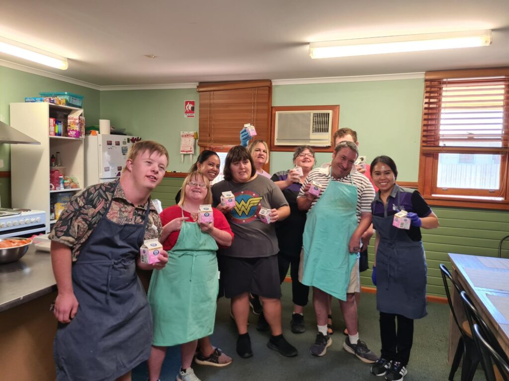 Generous Donation from Riverina Milk, Drinks and Smallgoods Leeton -