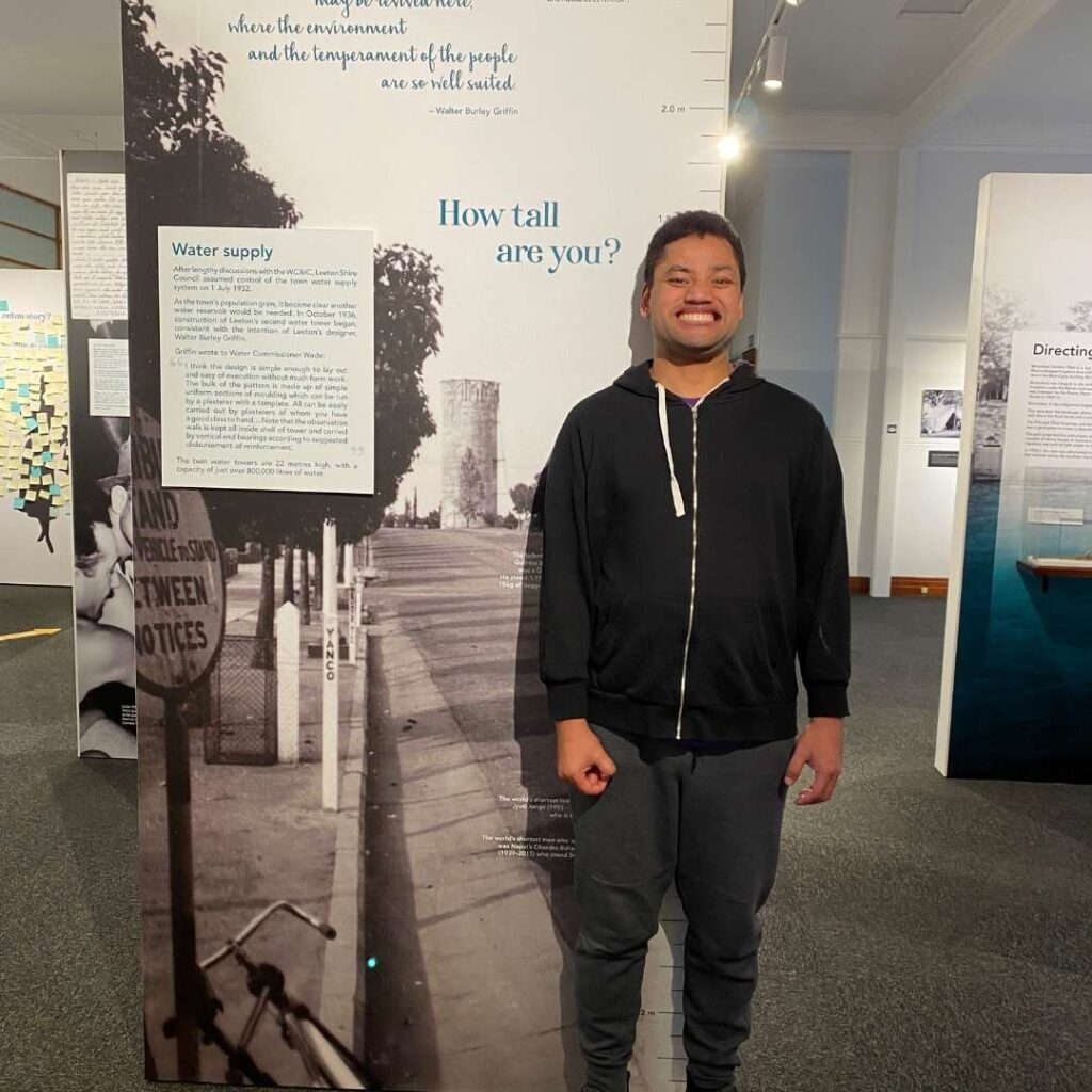 Visit to the Leeton Museum -
