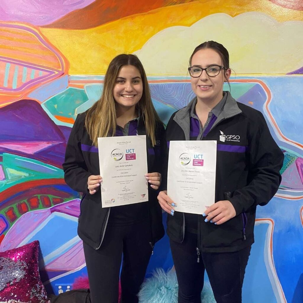 Congratulations to our Graduates Jen and Lucy -