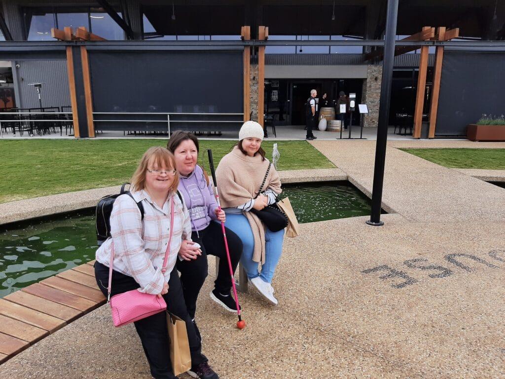 Respite ladies at the Whitton Malt House -