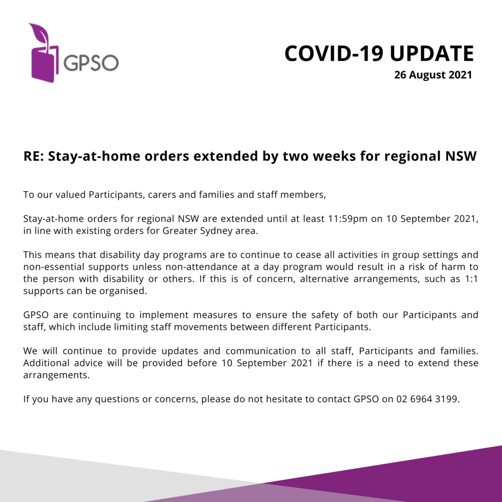 COVID-19 Update - 26 August 2021 -